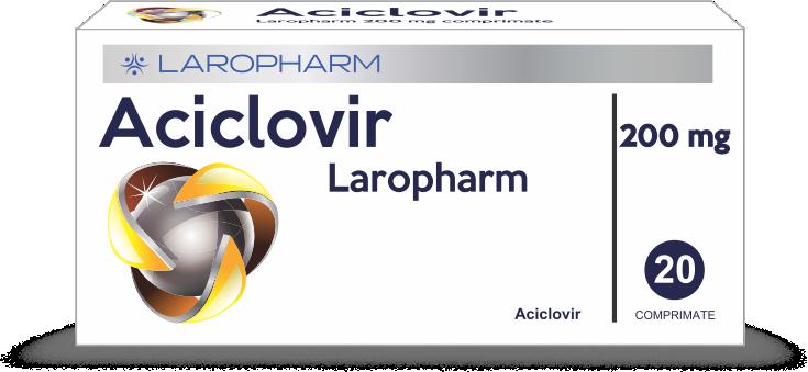 ACICLOVIR Laropharm 200 mg comprimate