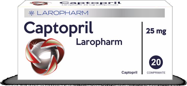 CAPTOPRIL Laropharm