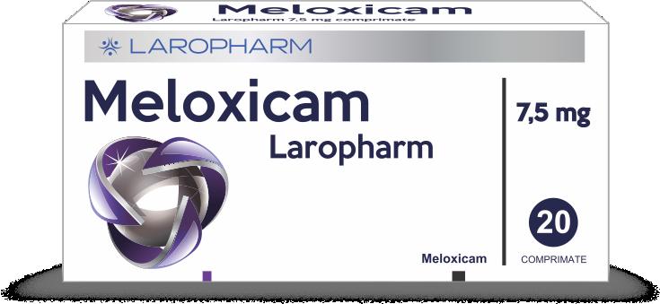 MELOXICAM Laropharm 7,5 mg comprimate