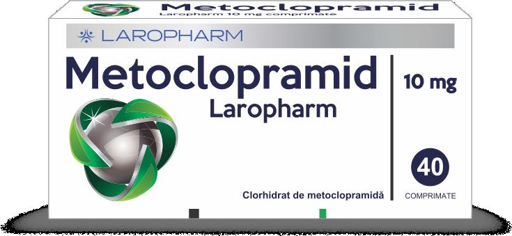 METOCLOPRAMID Laropharm 10 mg comprimate