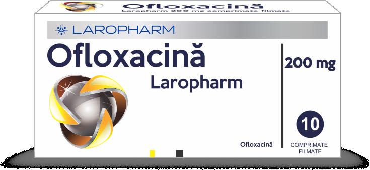 OFLOXACINA Laropharm 200 mg comprimate filmate