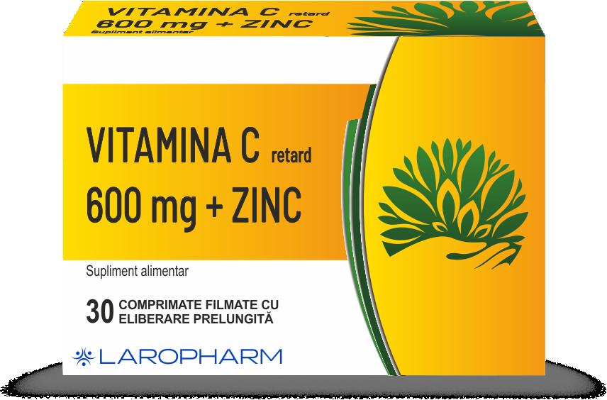 Vitamina C+ Retard +Zn